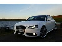 Immaculate White 2010 Audi A4 S-Line (143bhp) 4dr