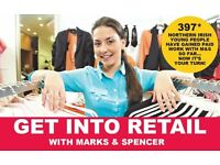 The Prince's Trust - Get Into Retail with Marks and Spencer - Derry/Londonderry