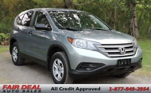 2012 Honda CR-V LX AWD: Heated Seats/Sunroof/Backup Camera