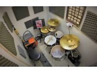 Professional, friendly Drum Tuition in West London