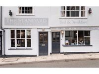 Assistant general manager for busy pub with rooms in Rye