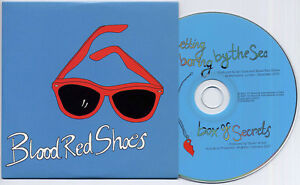 BLOOD-RED-SHOES-Its-Getting-Boring-By-The-Sea-UK-2-trk-promo-CD-card-sleeve
