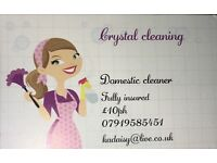 Domestic cleaners available whitin crawley, aywards Heath &Horsham