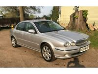 Jaguar X-type, petrol for sale, leather heated seats, New MOT, service history drives very well.