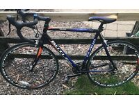 Racing aluminium frame bicycle
