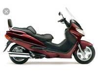 WANTED Suzuki burgman 400cc parts 2000 model