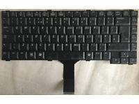 BenQ / Toshiba K011126f1 Black UK Layout Replacement Laptop Keyboard