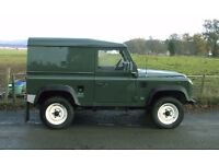LAND ROVER DEFENDER 90 300TDI HARD TOP VERY LOW MILEAGE.