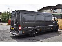 Campervan Work Van Camper 2.1 Diesel Mercedes Sprinter 311