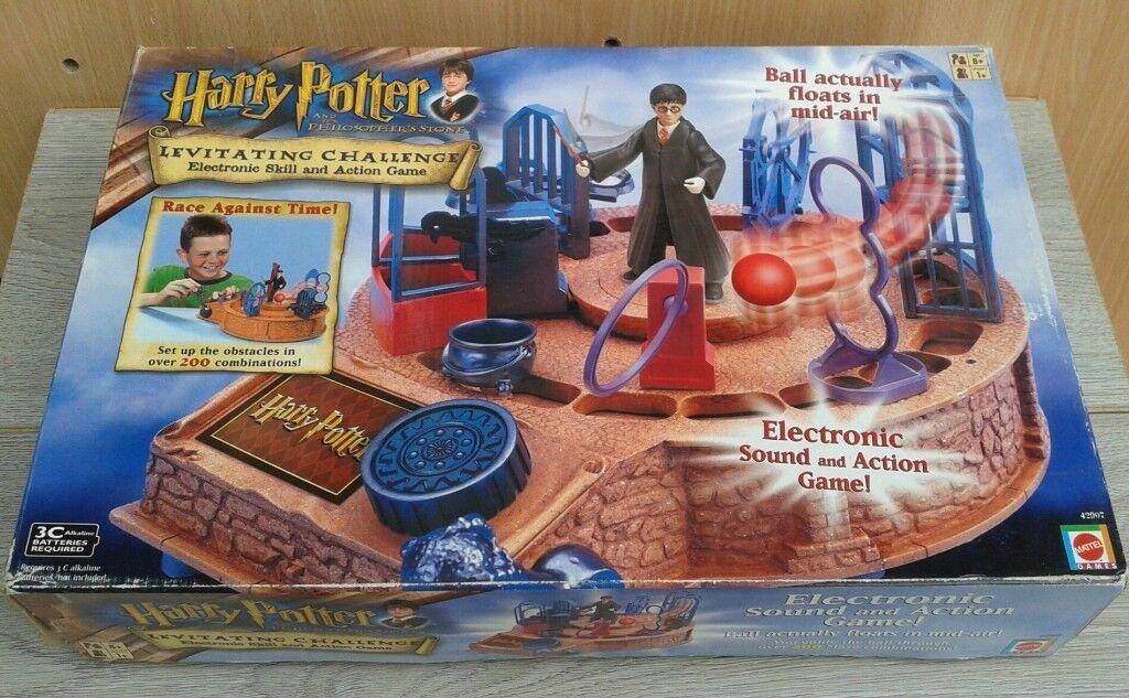 Harry Potter Levitating Challenge Action Game