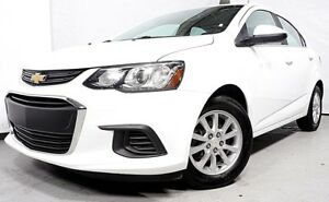 2017 CHEVROLET SONIC LT CAMERA DE RECUL BLUETOOTH A/C