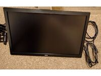 """GL2450-B LED Monitor, 24"""" Screen, Excellent Condition, Full HD, Triple Monitor Desk Stand Included"""