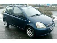 Toyota yaris 1.3 petrol Full Automatic Very cheap to run and insurance