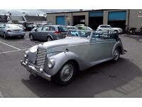 wanted/ required body restorer/mechanic to work on classic cars