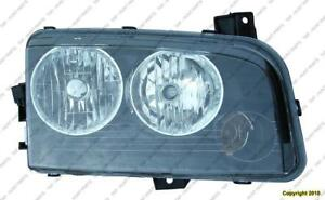 Head Lamp Driver Side Halogen [From 11/06/2006 To 2010] Dodge Charger