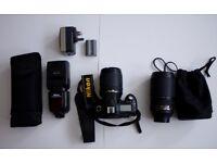 Nikon D90 Kit (2 Lenses + Speedlight)