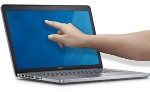 "DELL INSPIRON 7737 17.3"" FULL HD  TouchScreen  i7 1.8GHz 16GB 1TB Nvidia GeForce GT750M 2GB, DVDRW, Backlit Keyboard"