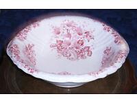 Large Antique Swinnertons Hanley Stafforrdshire Earthenware Bowl