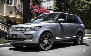 "Range Rover 22"" CEC wheels with Pirelli Scorpion tires 305/35R22"