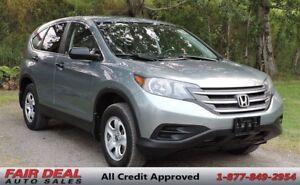 2012 Honda CR-V LX AWD: Heated Seats/Sunroof/Backup Camera