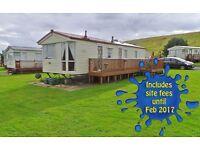 2007 Atlas Nevada 35 x 12 Holiday Home Sited at Blackadder Holiday Park **2016 SITE FEES INCLUDED**