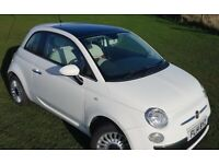 2014 Fiat, 500, Lounge, MOT - Sept 2021 - no advisories, Only 68000 miles, Service History, Two Keys
