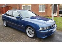 2001 E39 BMW 530i Sport Automatic Saloon