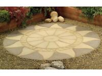 Aztec Sun 8ft6 Patio Paving Circle Feature Kit