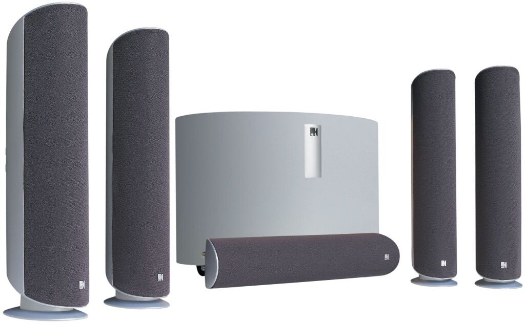 Kef Kht 5005 Speaker System Inc Sub Woofer In Newport