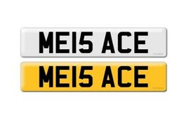 Personalised Number Plate - ME15 ACE