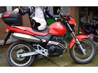 Honda FX650 Vigor (SLR650) very original, 1999 (T), 22204 miles, 50mpg, MOT Nov 2017, inc Top Box*