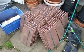 Concrete red Marley Roof Tiles