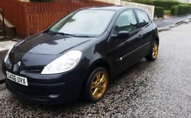 Selling my Black Pearl Renault Clio Expression -06
