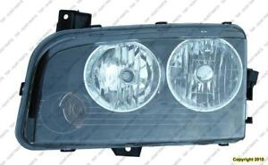 Head Lamp Passenger Side Halogen [From 11/06/2006 To 2010] Dodge Charger