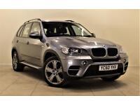BMW X5 3.0 XDRIVE30D SE 5d AUTO 241 BHP + SAT/NAV + LEATH (grey) 2010