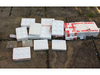 POLYSTYRENE EGG BOXES HATCHING / INCUBATION XLARGE / Plastic Egg Trays