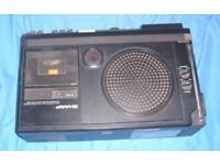VINTAGE Sharp 5P-27H TV Radio AND Cassette Player 70s great condition