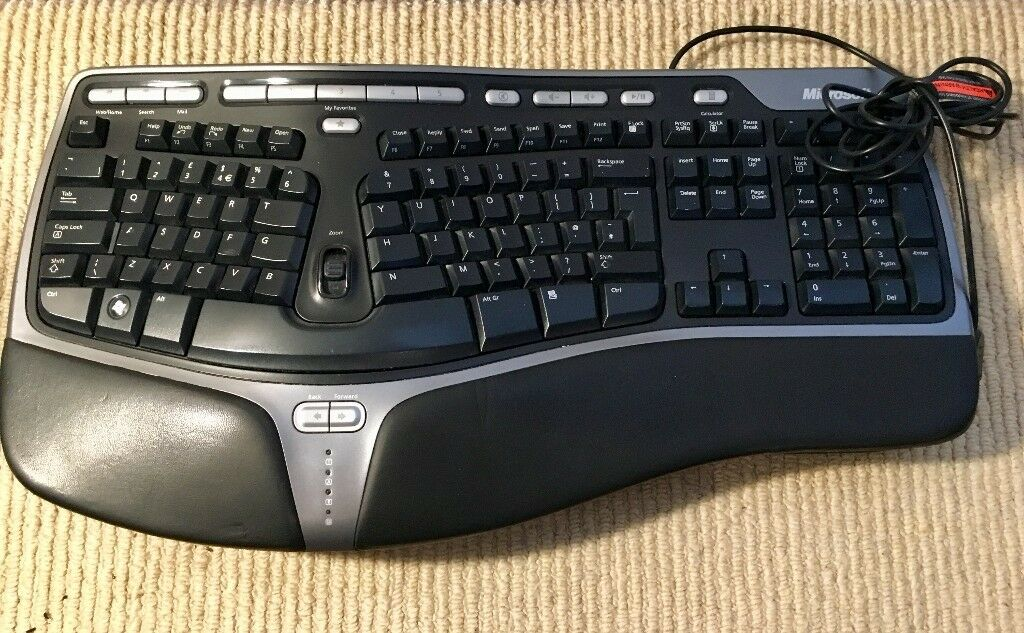 Microsoft Natural Ergonomic Keyboard 4000 - USB