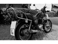 Yamaha SR 125 Classic Motorcycle