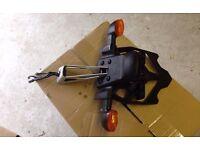 motorbike plate holder+blinkers genuine yamaha r1 14b 09>14