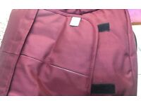 New ex display Baba bing baby changing bag day tripper deluxe red