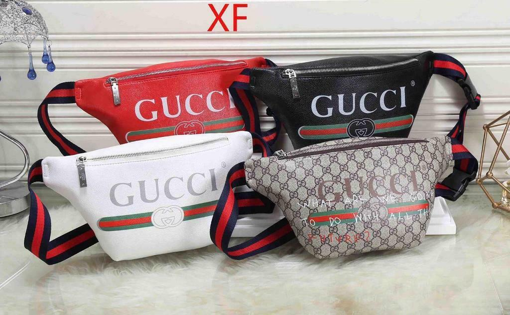 37ac5883f5e Gucci Print Large belt bag