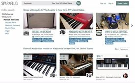 Backline rentals for your gigs and sessions on Sparkplug - the backline marketplace