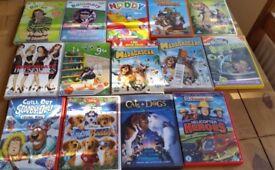 CHILDRENS DVD;S