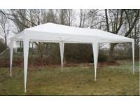 Brand New Outdoor Garden Gazebo Marquee (White 6m x 3m) for sale