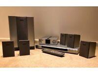 Sony DVD plus surround sound system