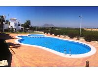 Beautiful 2 Bed Apartment. Next to La Finca Golf Course. Shared Pool. Private Balcony and Terrace