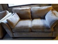 Alexis Sofa and Snuggle Chair.