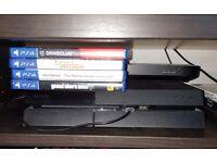 Playstation PS4 Slim 1TB + 4 Games