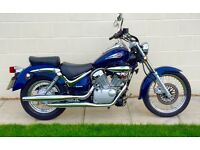 Stunning immaculate Suzuki VL125 Intruder in showroom cond HPI clear Full mot FSH Low miles UK DEL